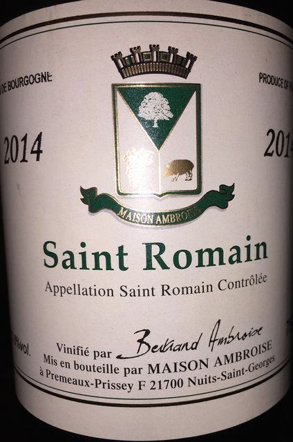 Saint Romain Bernard Ambroise 2014