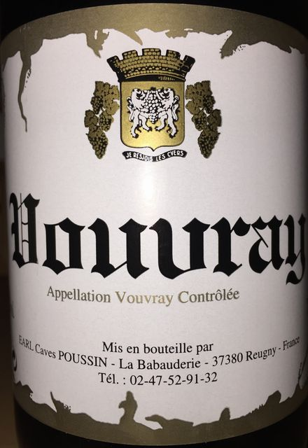 Vouvray Earl Caves Poussin 1986