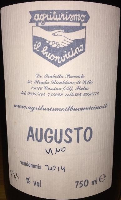 Augusto Agritunismo il buonviono 2014