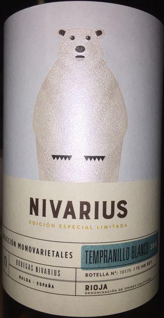 Nivarius Edicion Especial Limitada Coleccion Monovarietales Bodegas Nivarius 2015 part1