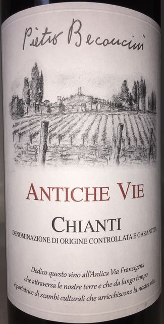 Chianti Antiche Vie Pietro Beconcini 2016
