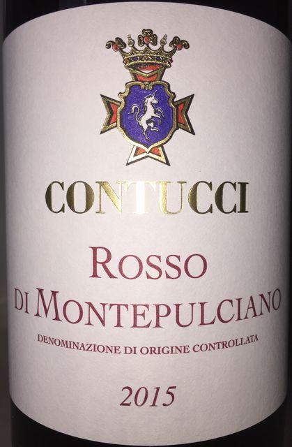 Rosso di Montepulciano Contucci 2015