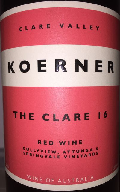 Koerner The Clare 2016 part1