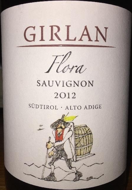 Girlan Flora Sauvignon 2012