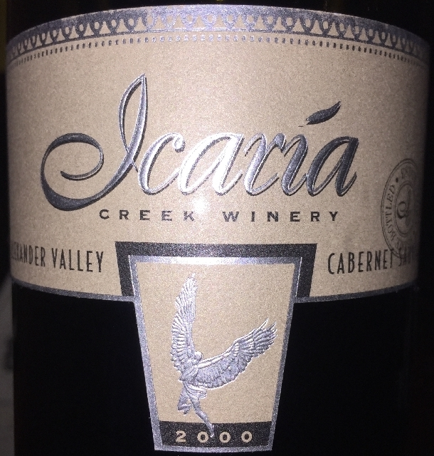 Icaria Creek Winery Cabernet Sauvignon 2000 part1