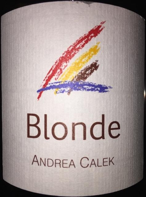 Blonde Andrea Calek