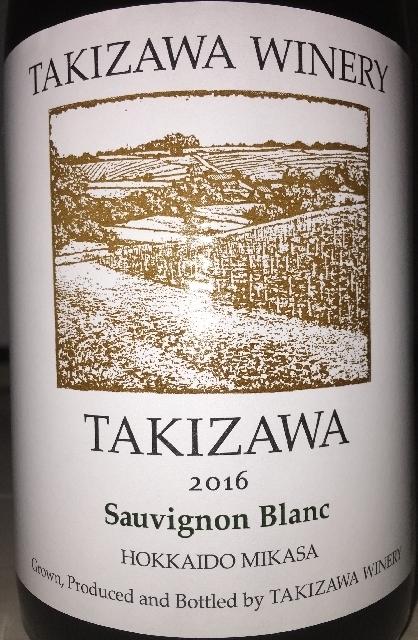 TAKIZAWA Winery Sauvignon Blanc 2016