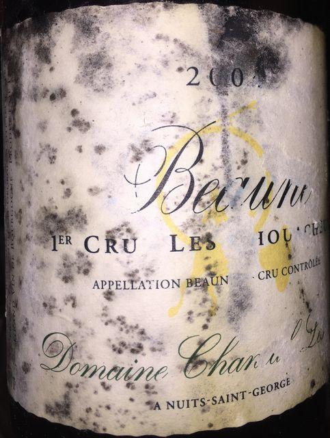 Beaune 1er Cru les Chouacheux Domaine Chantal Lescure 2004