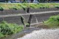 鮎川 富田川水系 渇水