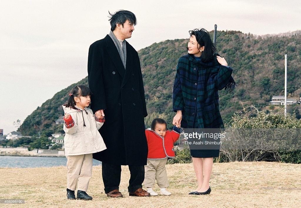 ●D1996年平成8年1月26日葉山御用邸31才