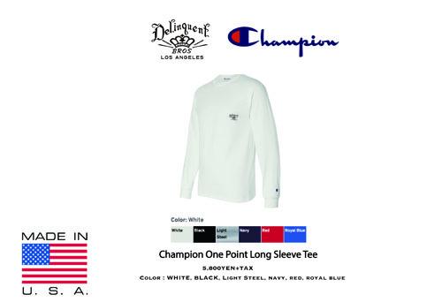DB×Champion L:S TEE