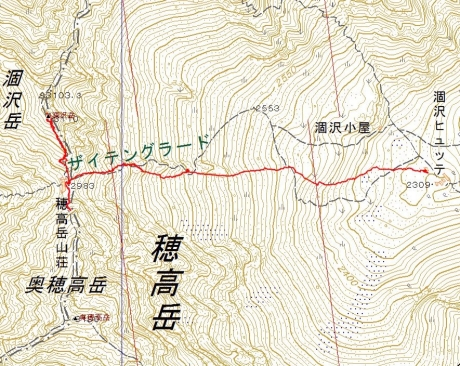 20170502涸沢岳