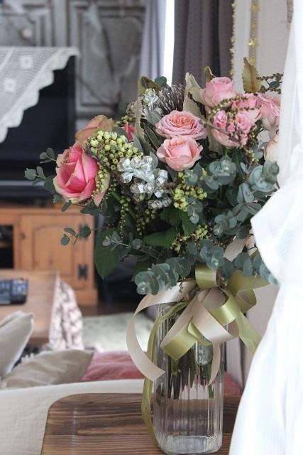 お誕生日のお花 (2)