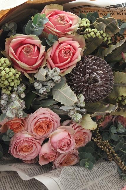 お誕生日のお花 (5)