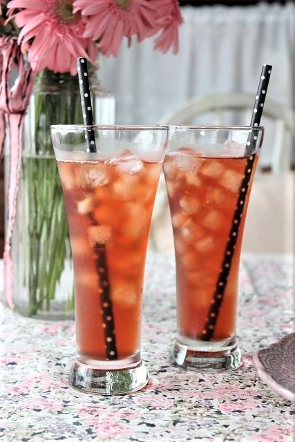 セリアのトールグラス (1)
