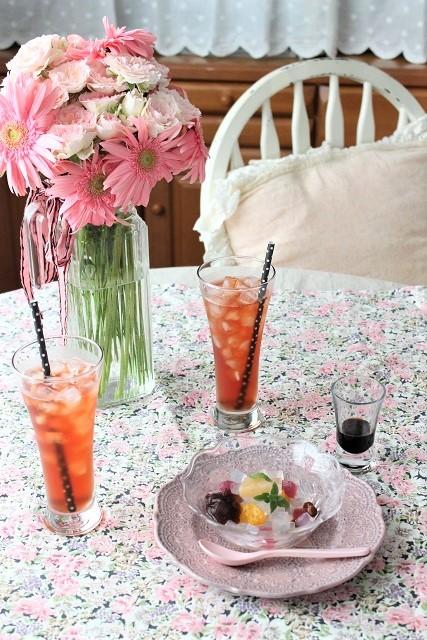 セリアのトールグラス (2)