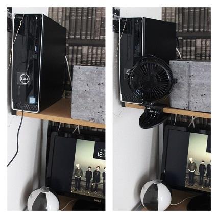 サンワダイレクト USB 扇風機 (1)