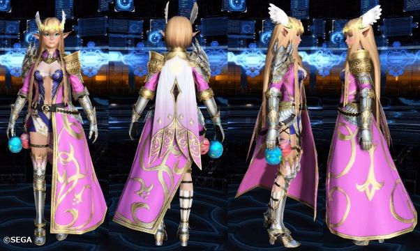 アリサの戦装束一式
