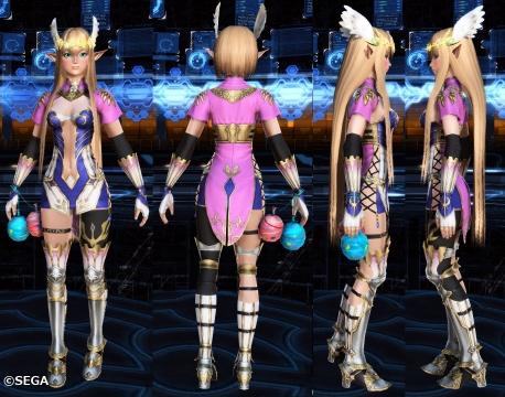 アリサの戦装束インナー・ベース