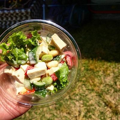 s-高野豆腐のシーザーサラダ
