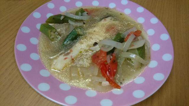 鱈のコンソメスープ仕立て