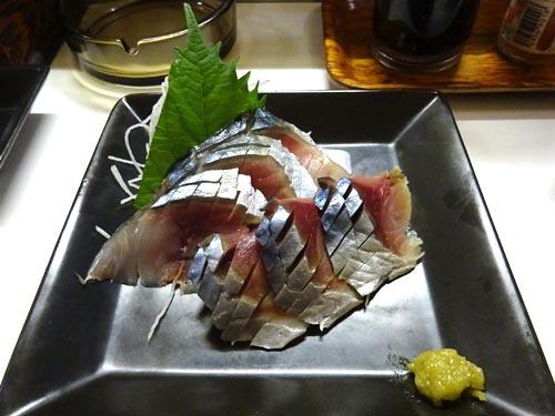 39鯖刺し身