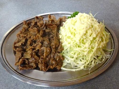 30すき肉炒めしょうゆ