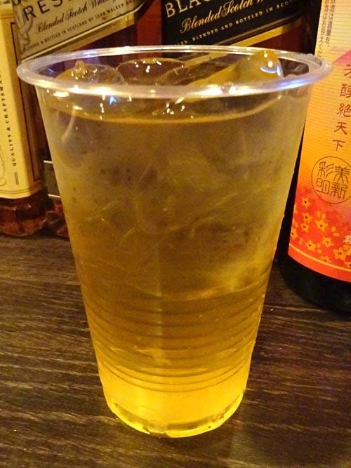 10緑茶割り