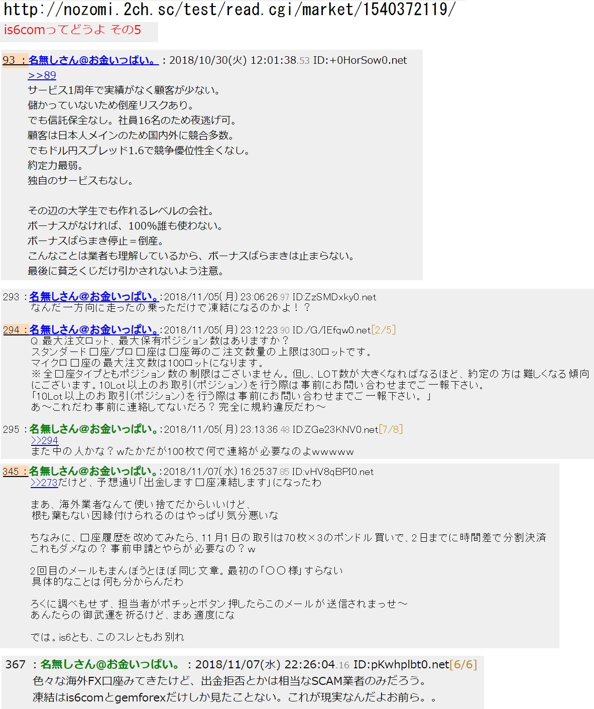 is6 fx 評判口コミ