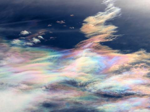 彩雲・何かに見える?