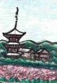 3コスモスの法起寺