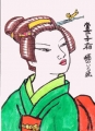 竜一江戸美人画