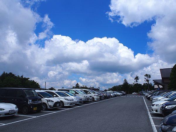大台ヶ原の駐車場