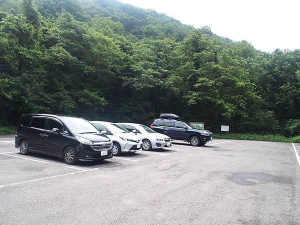 仏ヶ浦駐車場