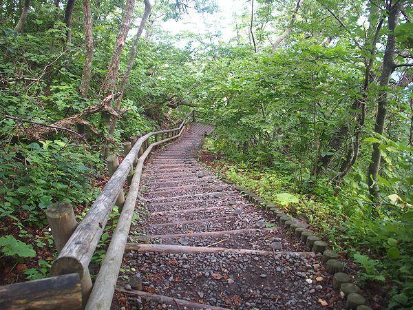 仏ヶ浦への遊歩道