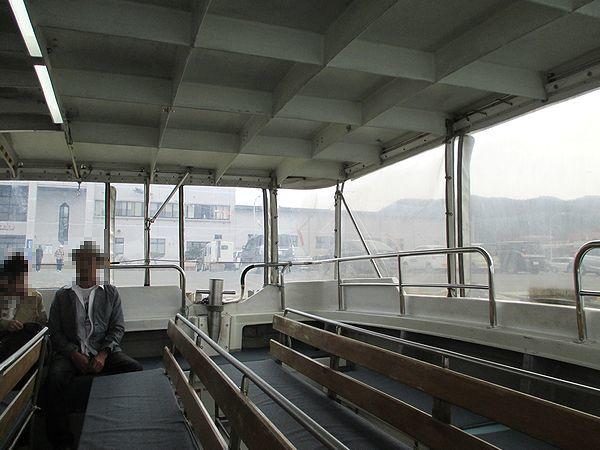 仏ヶ浦の観光船
