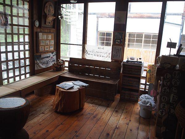 談話スペース@ランプの宿青荷温泉