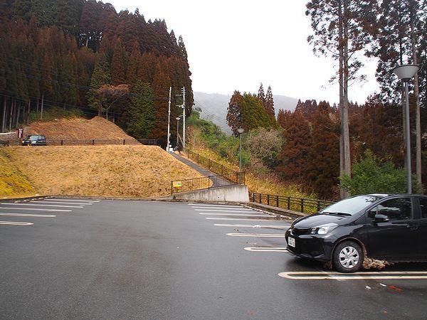 駐車場@鍋ケ滝