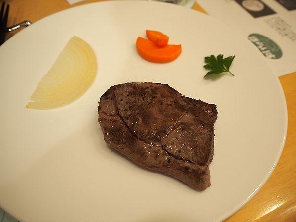 ペンションぽらりすの夕食