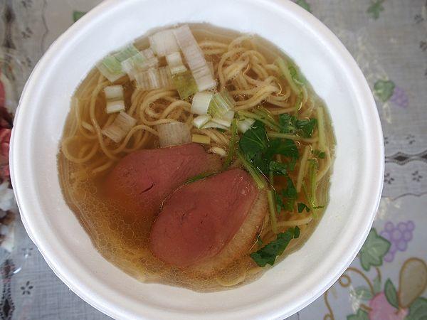 鴨出汁ラーメン@幸手桜まつり