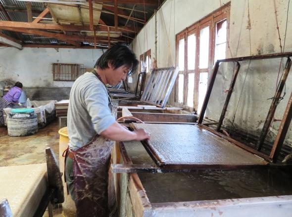 紙漉き工房