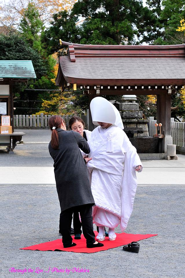 結婚式?1