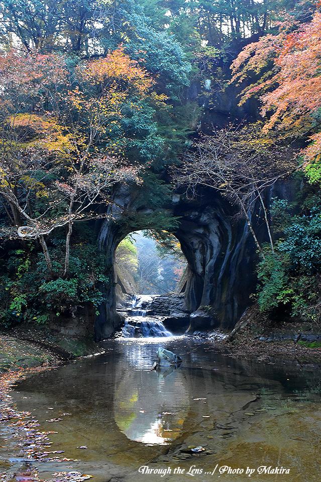 亀岩の洞窟(濃溝の滝)56D8