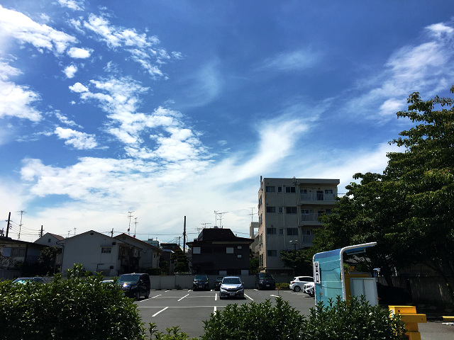 台風一過の東京@2017年7月5日 by占いとか魔術とか所蔵画像