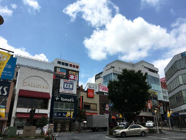 梅雨明けしたと思われる東京の街中2017年7月12日2 by占いとか魔術とか所蔵画像