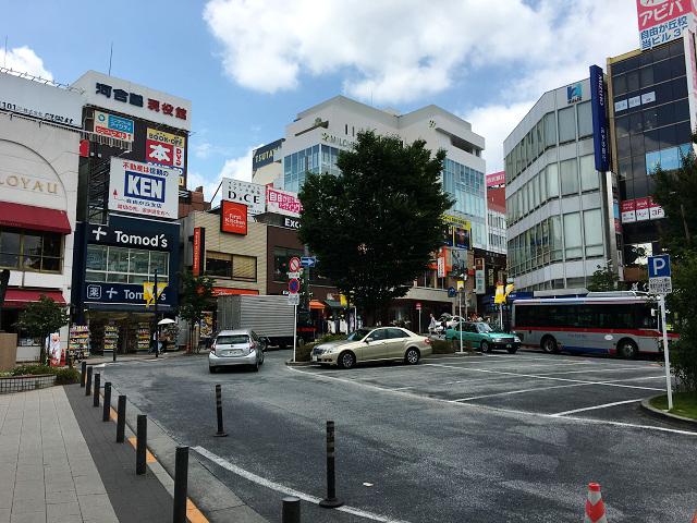 梅雨明けしたと思われる東京の街中2017年7月12日4 by占いとか魔術とか所蔵画像