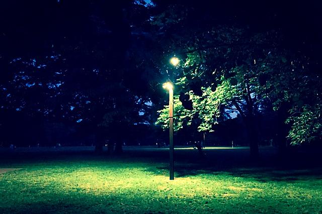 真夏の夜の公園 by占いとか魔術とか所蔵画像