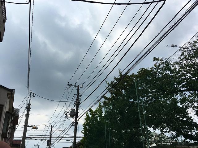 台風直前の東京@2017年8月30日2 by占いとか魔術とか所蔵画像