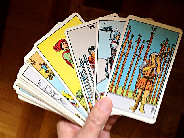 ウェイト版タロットカード by占いとか魔術とか所蔵画像
