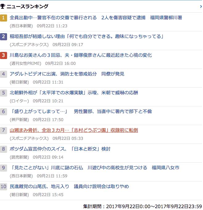 2017-09-22_金_gooランキング